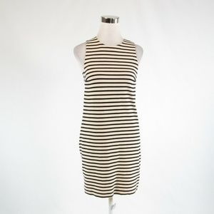 Light beige black FOSSIL sheath dress XS